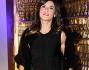 Elisabetta Canalis bellissima in mini abito nero a Pitti Uomo 85