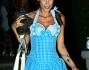 Elisabetta Canalis a un party organizzato per Halloween