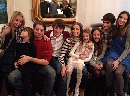 I 9 tra figli e nipoti di benedetta cristina e roberto - La casa di benedetta ...