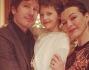 Milla Jovovich con la famiglia