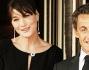 Carla Bruni con il marito Nicolas Sarkozy
