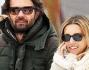 Finita la seconda stagione di Masterchef Carlo Cracco si gode le vacanze sulla neve con la sua Rosa Fanti
