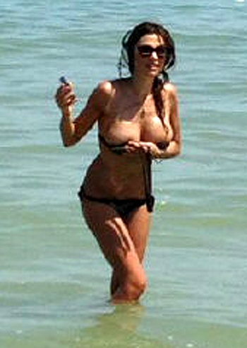 Alessandra canale foto sexy tette hot