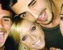 Selfie di gruppo per Cecilia con Francesco Monte, il fratello Stefano e la bella Ilaria