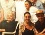 Francesco Monte e Cecilia Rodriguez insieme alla famiglia dell'ex tronista
