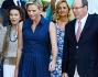 Charlene Wittstock, alla festa di fine estate con il Principe Alberto, ma il pancino non si vede: foto