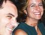 Chiara Giordano e il bel moro dagli occhi chiari, proprio come il suo ex Raoul Bova, si siedono fianco a fianco