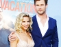 Chris Hemsworth e Elsa Pataky alla premiere di Vacation