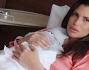 Claudia Galanti mamma per la terza volta con la piccola Indila Carolina