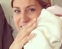 Raffaella Zardo culla la nuova arrivata Indila Carolina