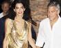 Una coppia d'oro sotto i riflettori: George Clooney e Amal Alamuddin
