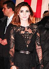 Clotilde, sexy in pizzo nero ai NRJ Awards di Cannes: le foto