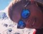 Martina Colombari a 2495 metri