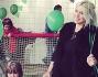 Palloncini, calcio e tangi giochi per il compleanno di Costantino figlio di Wanda Nara