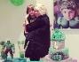 Wanda Nara con il piccolo Coky avuto dal matrimonio con Maxi Lopez