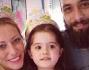 Karina Cascella e salvatore Angelucci festeggiano il compleanno della loro piccola principessa Ginevra