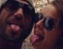 Costantino Vitagliano ed Elisa Mariani selfie nell'acropoli di Atene