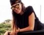 Cristina Buccino è volata sulla bella Isola sarda per lavoro