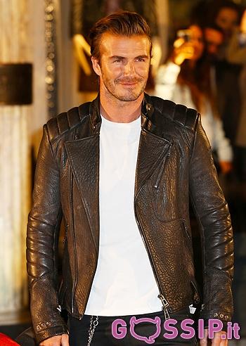 David Beckham come Fonzie nel primo film di Happy Days ...
