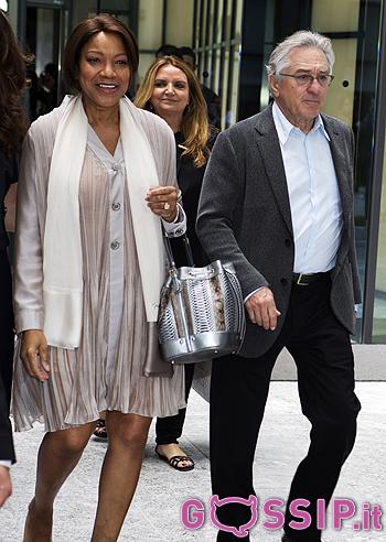 Robert de niro con la moglie grace hightower foto e gossip for Giorgio armani figli