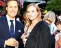 Diane Kruger insieme al padrone di casa David Lauren