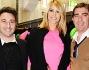 Elena Santarelli in rosa alla Milano Fashion Week: le foto