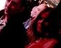 Eleonora Pedron poco prima di entrare sul palco: eccola insieme Kekko dei Mod�