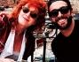 Una partita da carte per passare il tempo: Marco Mengoni e Fiorella Mannoia