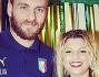 Anche Daniele De Rossi con Emma Marrone per una foto ricordo