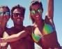 Federica Nargi in barca con gli amici si diverte da matti alle Baleari