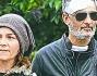 Rosario Fiorello insieme alla moglie Susanna Biondo si reca in visita al sig Mario investito dallo showman lo scorso 3 Marzo