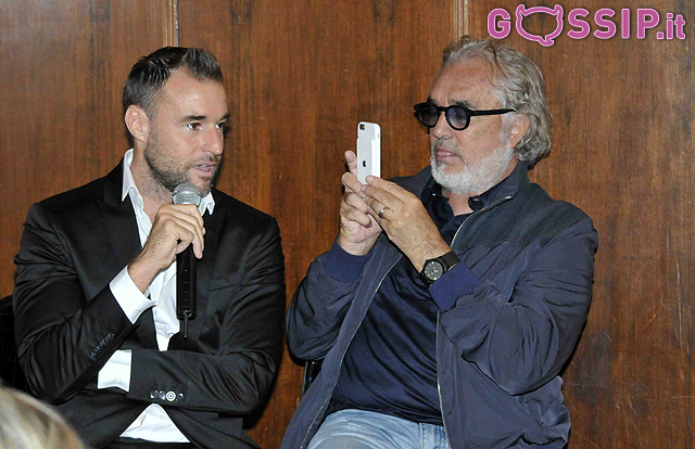 Flavio Briatore e Philipp Plein