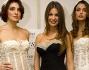 Francesca Fioretti posa con alcune modelle in abito da sposa