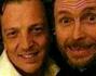 Gabriele Muccino insieme al suo caro amico Lorenzo Jovanotti il giorno delle sue nozze