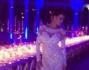 Claudia Galanti bellissima nella cornice suggestiva fiorentina con giochi di luce e design glamour