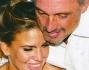 Claudia Galanti al party di Tommaso Buti sembra essere inseparabile dal festeggiato