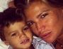 Buonanotte dal Social: Claudia Galanti con i figli Liam e Tal Harlow