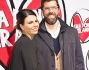Geppi Cucciari e  Luca Bonaccorsi sul red carpet romano di 'Una donna per amica'