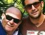 Gerry Scotti ed il figlio Edoardo durante le vacanze di Natale a Miami