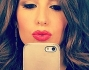 Selfie in camerino prima di Made in sud per Elisabetta Gregoraci