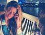 Cenetta romantica a lume di candela con una vista incantevole: Gue Pequeno e Natalia Bush