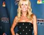 Heidi Klum bellissima in mini abito nero a pois alla serata dedicata allo show America's got Talent