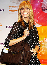 Heidi Klum presenta la Truly Scrumptious Collection a Los Angeles: foto