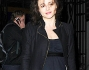 Helena Bonham Carter ha ostentato l'abituale look da dark lady