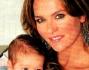 Hoara Borselli con il secondogenito Daniel nato il 15 settembre scorso