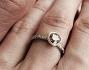L'anello regalato a Emilie dall'attore