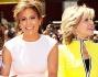 Jennifer Lopez con Casper Smart i figli max ed Emme e Jane Fonda