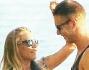 Karina Cascella e il modello canadese Martin Evans innamorati e felici