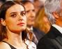 Kasia Smutniak e Domenico Procacci durante la serata di gala dove il produttore e l'attrice sono stati premiati