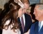 Kate Middleton e il Principe William insieme a Carlo